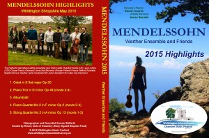 DVD cover Mendelssohn small